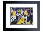 Nick Collins Autographed Green Bay Packers 8x10 Photo BLACK CUSTOM FRAME - SUPER BOWL XLV CHAMPS