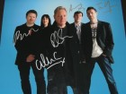 NEW ORDER Signed - Autographed 11x14 inch Photo - Guaranteed to pass PSA or JSA signed by Bernard Sumner, Stephen Morris, Gillian Gilbert, Phil Cunningham and Tom Chapman