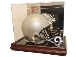 St. Louis Rams Helmet Display Boardroom Collection