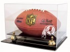 Washington Redskins Football Display Case Coach's Choice