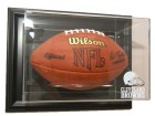 Cleveland Brown Frames Football Case-Up - Wall Mount - Black Frame