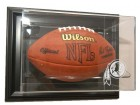 Washington Redskins Football Case-Up - Wall Mount - Black Frame
