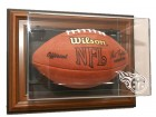 Tennessee Titans Football Case-Up - Wall Mount - Brown Frame