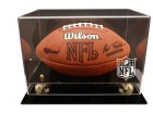Deluxe NFL Logo Gear Football Display Case