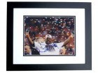 Nick Fairley Signed - Autographed Auburn Tigers 8x10 Photo - 2011 National Champion and MVP BLACK CUSTOM FRAME - Detroit Lions