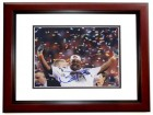 Nick Fairley Signed - Autographed Auburn Tigers 8x10 inch Photo - 2011 National Champion and MVP MAHOGANY CUSTOM FRAME - Guaranteed to pass PSA or JSA - Detroit Lions