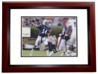 Nick Marshall Signed - Autographed Auburn Tigers 8x10 inch Photo MAHOGANY CUSTOM FRAME - Guaranteed to pass PSA or JSA