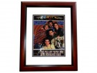 NSYNC Group Signed - Autographed NO STRINGS ATTACHED Tour Book by Justin Timberlake, JC Chasez, Lance Bass, Joey Fatone, and Chris Kirkpatrick -  MAHOGANY CUSTOM FRAME - Guaranteed to pass PSA or JSA