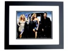 Charles Esten, Hayden Panettiere and Connie Britton Signed - Autographed NASHVILLE 11x14 inch Photo BLACK CUSTOM FRAME - Guaranteed to pass PSA or JSA