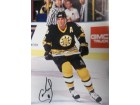 Cam Neely (Boston Bruins) Signed 11x14 Photo (Small puncture hole just below the left skate)