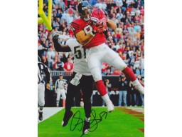 Owen Daniels Signed - Autographed Houston Texans 8x10 inch Photo - Guaranteed to pass PSA or JSA