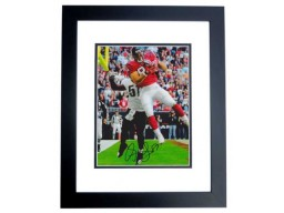Owen Daniels Signed - Autographed Houston Texans 8x10 inch Photo BLACK CUSTOM FRAME - Guaranteed to pass PSA or JSA