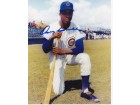 Oscar Gamble Signed - Autographed Chicago Cubs 8x10 inch Photo - Guaranteed to pass PSA or JSA
