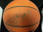 Shaquille O'Neal Signed Spalding Indoor / Outdoor Basketball (Light Signature)