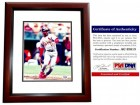 Ozzie Smith Signed - Autographed St. Louis Cardinals 8x10 inch Photo MAHOGANY CUSTOM FRAME - PSA/DNA Certificate of Authenticity (COA) - 1982 World Series Champs