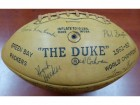 1962 Green Bay Packers Championship Team Autographed Official Wilson Football With 51 Signatures Including Vince Lombardi PSA/DNA #AB06829