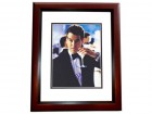 Pierce Brosnan Signed - Autographed James Bond 8x10 inch Photo MAHOGANY CUSTOM FRAME - Guaranteed to pass PSA or JSA