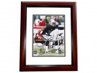 "Phillip Buchanon Signed - Autographed Oakland Raiders 8x10 inch Photo MAHOGANY CUSTOM FRAME - Guaranteed to pass PSA or JSA with ""AKA SHOWTIME"" Inscription"