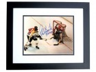 Phil Esposito Signed - Autographed 11x14 Photo BLACK CUSTOM FRAME with Hall of Fame Inscription