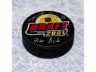 Tomas Plekanec 2001 Nhl Draft Day Signed Puck W/ 71St Pick