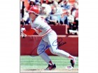 Pete Rose Signed - Autographed Cincinnatti Reds 8x10 Record Breaking Photo - PSA/DNA Certificate of Authenticity (COA) - All Time Hit King