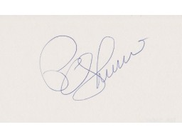 Pam Shriver Signed - Autographed Tennis 3x5 inch Card - Guaranteed to pass PSA or JSA