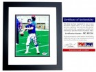 Phil Simms Signed - Autographed New York Giants 8x10 inch Photo BLACK CUSTOM FRAME - PSA/DNA Certificate of Authenticity (COA)