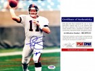Phil Simms Signed - Autographed New York Giants 8x10 inch Photo - 2x Super Bowl Champion - PSA/DNA Certificate of Authenticity (COA)