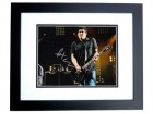Pat Smear Signed - Autographed The Foo Fighters 8x10 inch Photo BLACK CUSTOM FRAME - Guaranteed to pass PSA or JSA - Nirvana