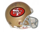 Steve Young Autographed San Francisco 49ers Throwback Pro Line Helmet by Riddell