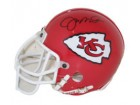 Joe Montana Autographed Authentic Mini Helmet Kansas City Chiefs by Riddell
