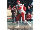 Len Dawson Kansas City Chiefs Autographed Photo 16x20, #1094, Throwing w/MVP