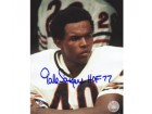 "Gale Sayers Chicago Bears 8x10 #298 Autographed Photo signed with ""HOF 77"""