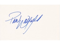Paul Warfield Signed - Autographed Cleveland Browns 3x5 inch index card - Guaranteed to pass PSA or JSA
