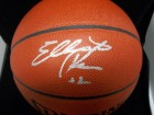 Elliot Perry Signed Spalding Indoor / Outdoor Basketball