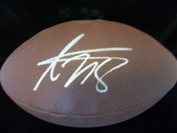 Adrian Peterson Signed Wilson Super Grip Football