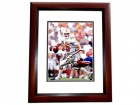 Peyton Manning Signed - Autographed Tennessee Volunteers 8x10 inch Photo MAHOGANY CUSTOM FRAME - Guaranteed to pass PSA or JSA