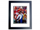 Peyton Manning Signed - Autographed Tennessee Volunteers 8x10 inch Photo BLACK CUSTOM FRAME - Guaranteed to pass PSA or JSA