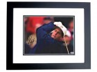 Phil Mickelson Signed - Autographed Golf 8x10 inch Photo BLACK CUSTOM FRAME - 3x Masters Champion - Guaranteed to pass PSA/DNA or JSA