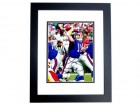 Phil Simms Signed - Autographed New York Giants 8x10 inch Photo BLACK CUSTOM FRAME - Guaranteed to pass PSA or JSA