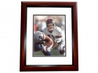 Phil Simms Signed - Autographed New York Giants 8x10 inch Photo MAHOGANY CUSTOM FRAME - Guaranteed to pass PSA or JSA