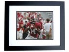 Phillip Simms Autographed Alabama Crimson Tide 8x10 Photo BLACK CUSTOM FRAME