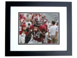 Phillip Simms Signed - Autographed Alabama Crimson Tide 8x10 inch Photo BLACK CUSTOM FRAME - Guaranteed to pass PSA or JSA