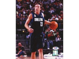 Steve Nash Autographed 8x10 Photo Mavericks PSA/DNA #Q89508