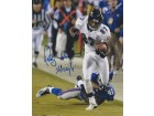 Qadry Ismail Signed - Autographed Baltimore Ravens 8x10 inch Photo - Guaranteed to pass PSA or JSA with MISSILE Inscription