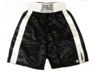 Riddick Bowe Signed Everlast Boxing Trunks
