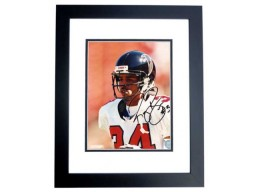 Ray Buchanan Signed - Autographed Atlanta Falcons 8x10 inch Photo BLACK CUSTOM FRAME - Guaranteed to pass PSA or JSA
