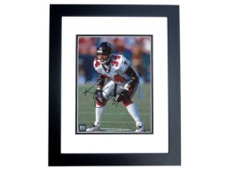 Ray Buchanon Signed - Autographed Atlanta Falcons 8x10 inch Photo BLACK CUSTOM FRAME - Guaranteed to pass PSA or JSA