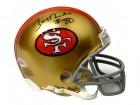 Jerry Rice Signed 49ers Riddell Mini Helmet