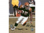 Rudi Johnson Signed - Autographed Cincinnati Bengals 8x10 inch Photo - Guaranteed to pass PSA or JSA - Black Jersey